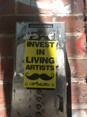 invest in living artist